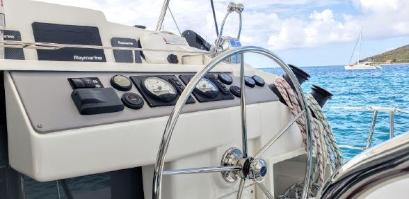 Used Sail Catamaran for Sale 2018 Leopard 40 Electronics & Navigation